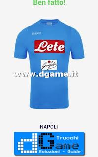 Soluzioni Indovina maglia calcio Italia livello 5