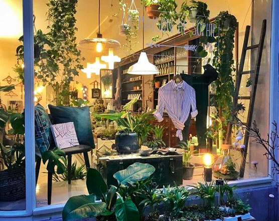 la maison de sophie is a cosy minimall in the heart of the jordan area in amsterdam we have lots of goodies in store like fashion jewelry home deco