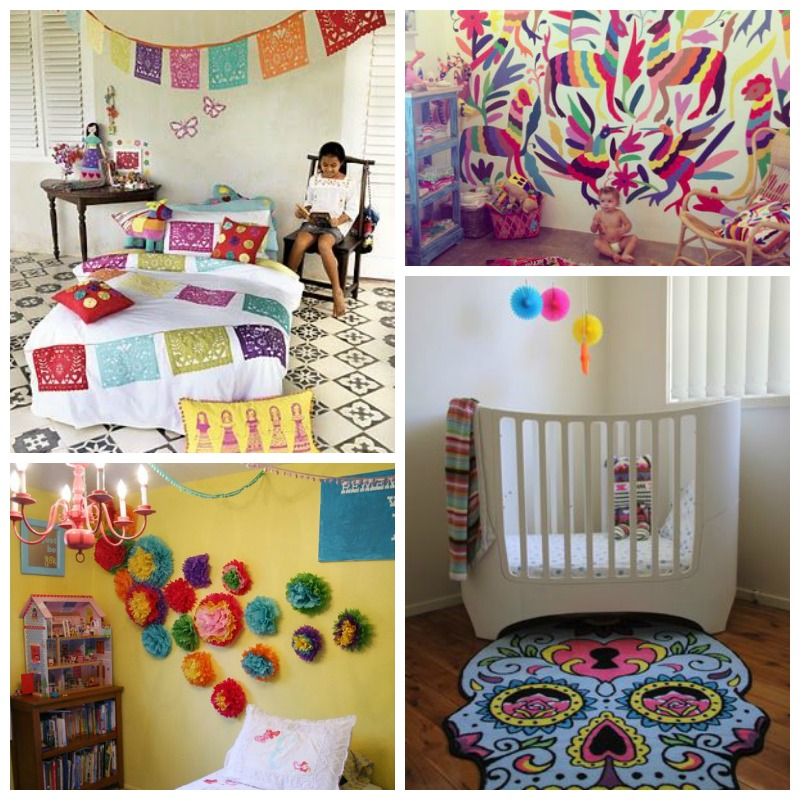 Quirky Bohemian Mama - A Bohemian Mom Blog: Mexican Themed Baby Nursery Inspiration {Colorful ...