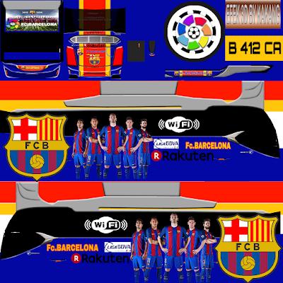 Download Livery Bussid Barcelona HD Keren & Terbaru 2019