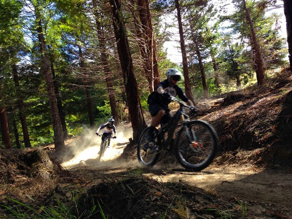 new gondola access bike park for rotorua