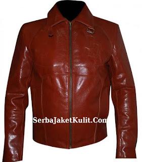 jaket ala daredevil desain keren warna merah