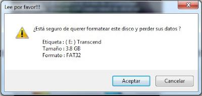Formateo de un pendrive, Linux Live.