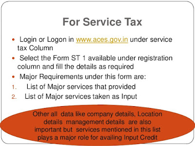 How to Obtain Service Tax Registration Online