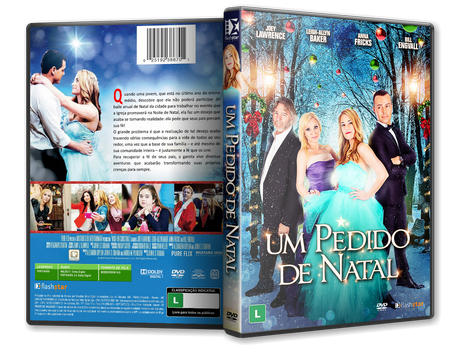 Capa DVD Um Pedido de Natal [Exclusiva]