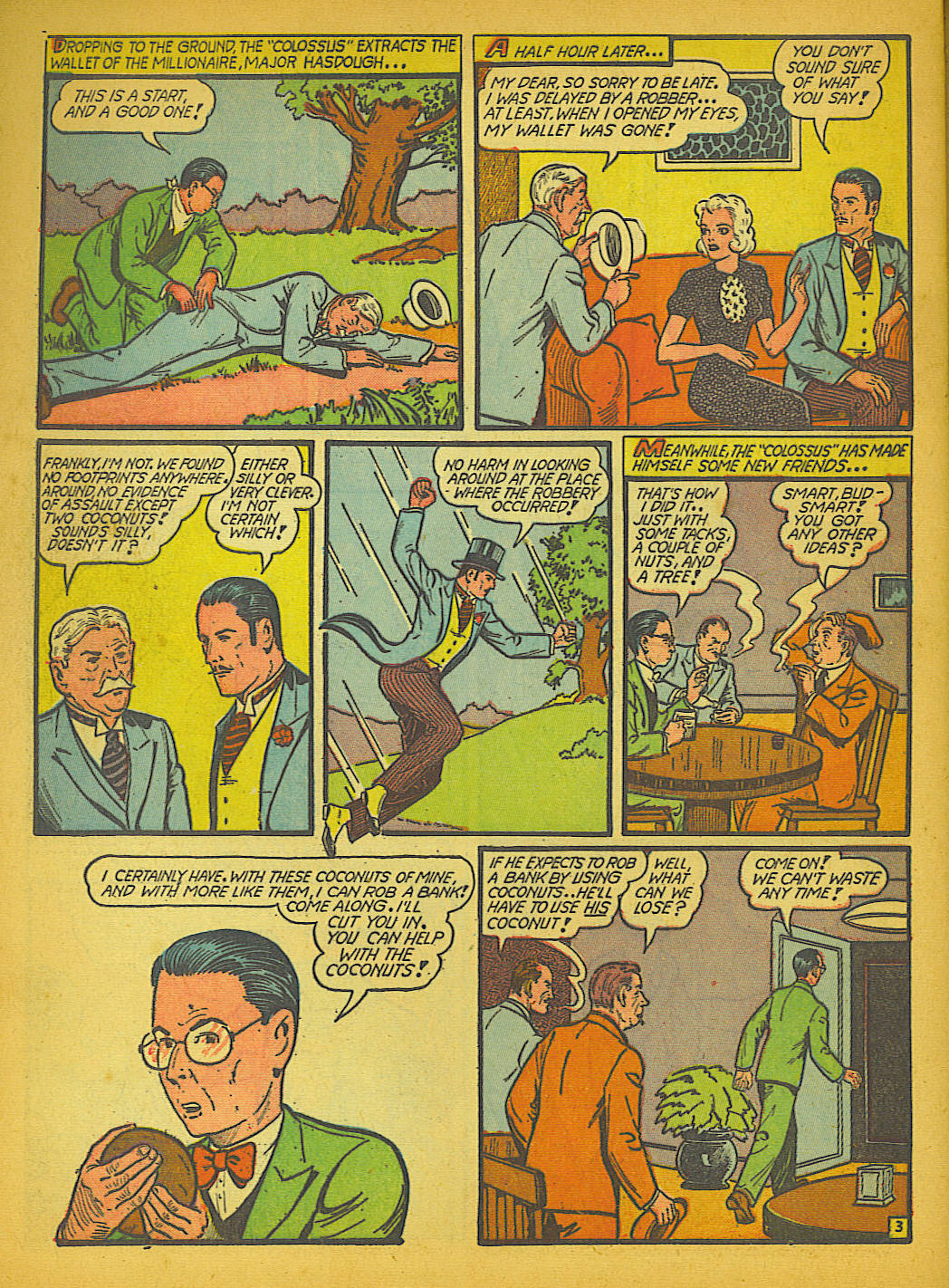Read online Action Comics (1938) comic -  Issue #51 - 61