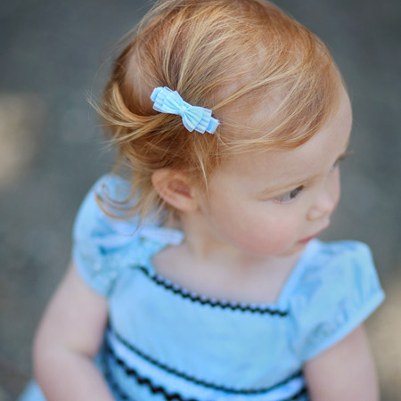 This Baby Hair Clip Is Best Worn With Sophisticated Little Dresses The Shayla Available In Black Citron Cream Lavender Pink Shocking And