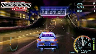 Need for Speed - Underground Rivals PPSSPP Highly Compressed