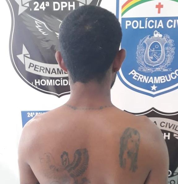 Araripina: Polícia Civil prende um dos acusados de matar jovem a facadas no Bairro Bomba