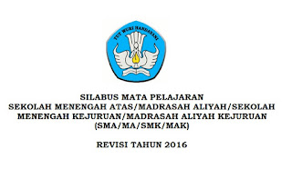 Download Silabus PPKn SMA-MA-SMK-MAK Kurikulum 2013 Revisi 2016 Terbaru