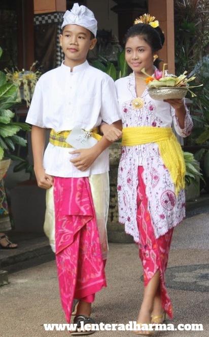 42 Gambar Baju Bali Sembahyang Terbaik