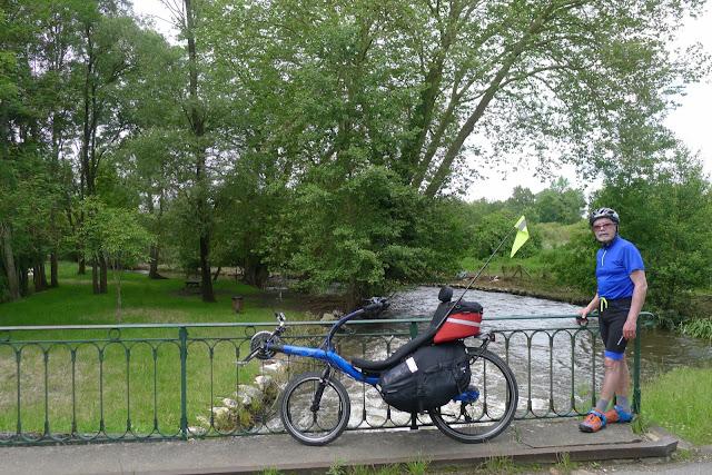 Tour de la Beauce en vélo couché la vallée de l'Essonne