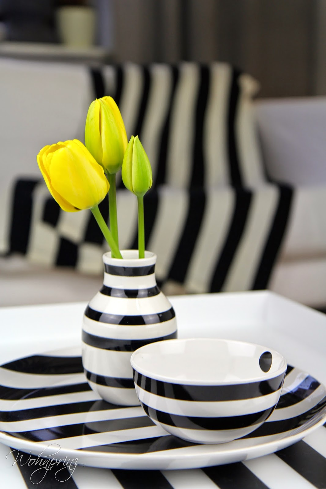 bastian der wohnprinz wohnblogger im videoformat fr hlingsdeko streifen treffen blumen. Black Bedroom Furniture Sets. Home Design Ideas