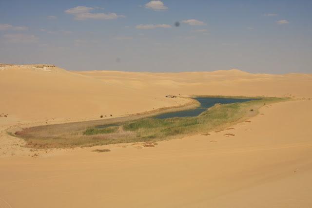 O grande Mar de Areia do DESERTO LÍBIO em território egípcio | Egipto