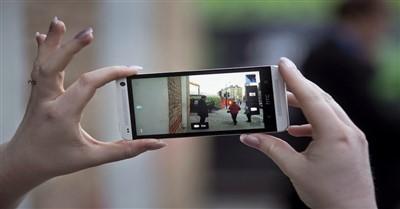 mengambil gambar dengan smartphone