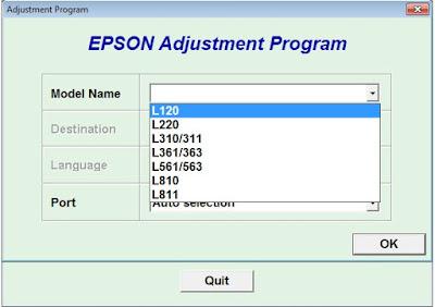 Koleksi Reseter Epson