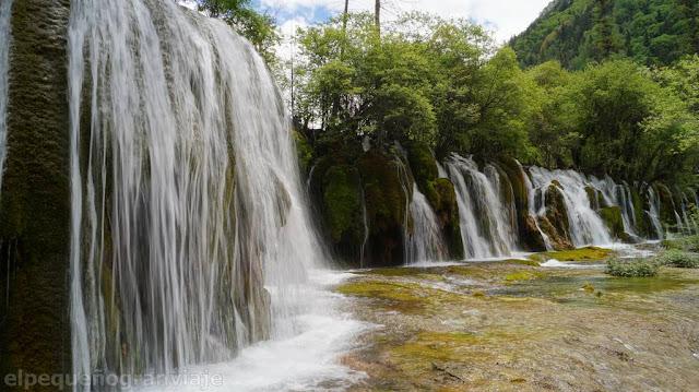 Jiuzhaigou, cascadas, parque, chengdu, china