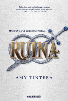 RUINA. Amy Tintera (Gran Travesía - Marzo 2017) PORTADA LIBRO EDICION ESPAÑOLA