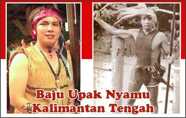 Gambar Baju Upak Nyamu Kalimantan Tengah