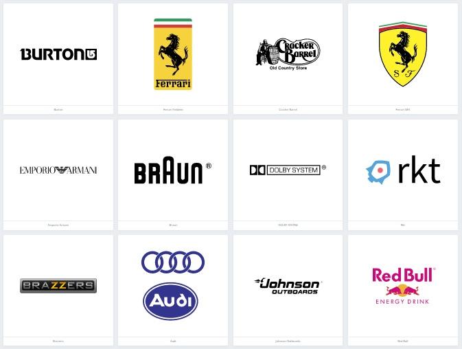 159 Contoh Logo Terbaik Dan Keren Perusahaan Terkenal Paling Top Di Dunia