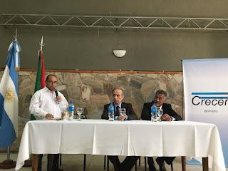 El embajador de Palestina visitó Berisso y dio una charla en el marco del mes del Inmigrante