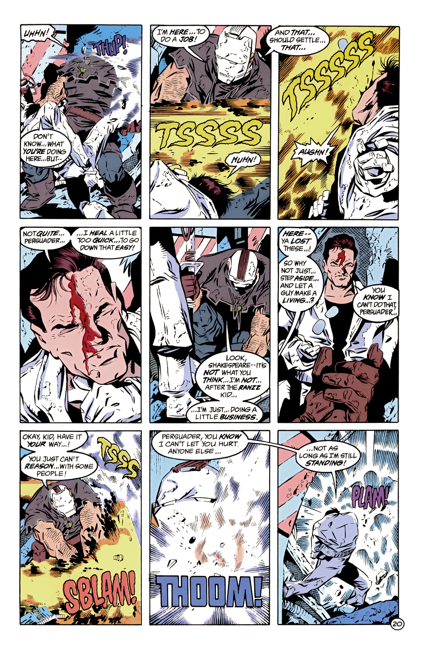 Legion of Super-Heroes (1989) 12 Page 20