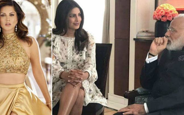 Sunny Leone Defends Priyanka Chopra's dress: If PM Modi Had A Problem, He Would Have Said