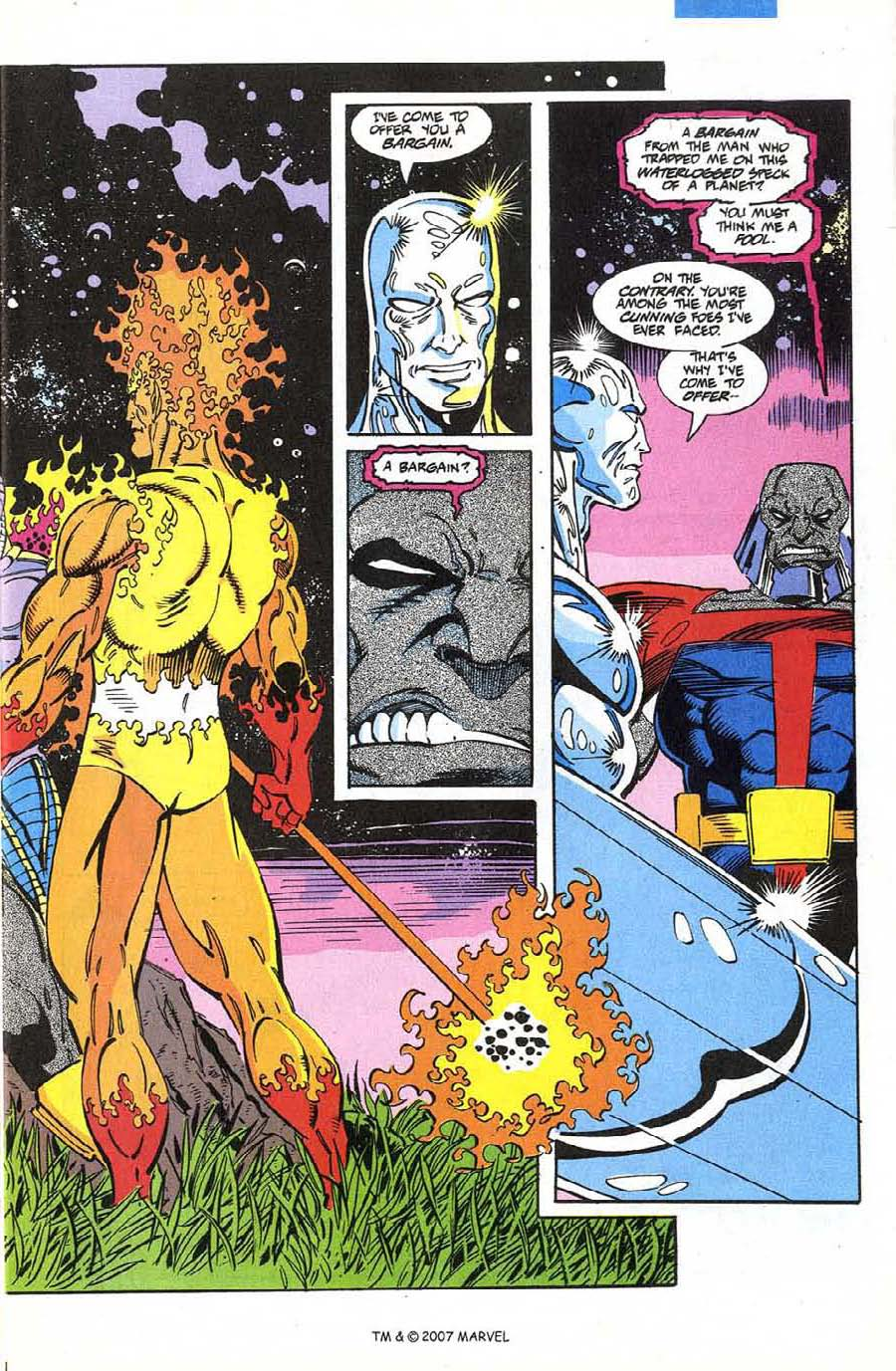 Read online Silver Surfer (1987) comic -  Issue #74 - 5