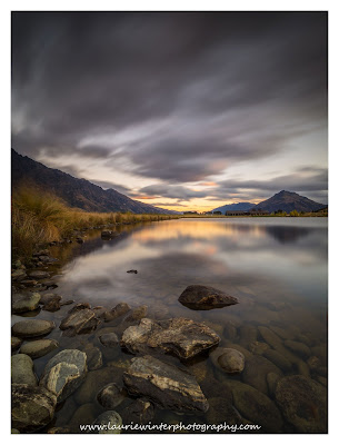 Jack's Point, Lagoon, Golf House, Sunset, Queenstown