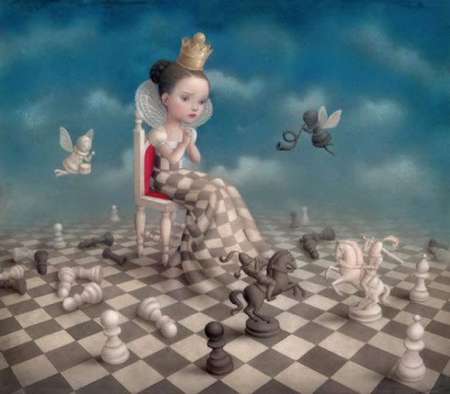 "page de ""Play with me"" de Nicoletta Ceccoli chez Soleil"
