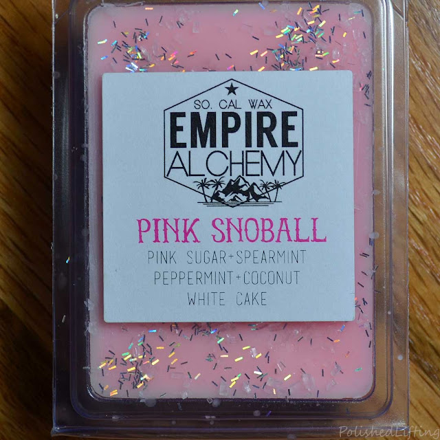 pink sugar spearmint wax melt