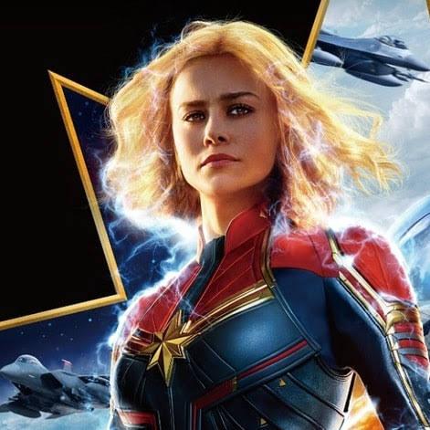 Captain Marvel International Poster : ブリー・ラーソン主演の戦うヒロイン映画「キャプテン・マーベル」の海外版のポスター ! !