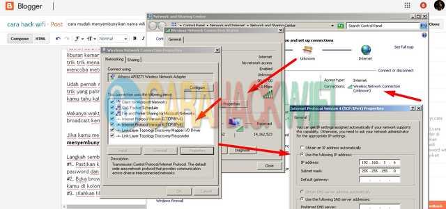 cara manual masuk ke dashboard TPlink