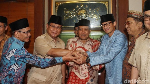 Dapat Kartu Anggota NU, Ini Kata Prabowo