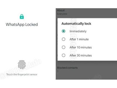 Whatsapp New update for security features available for beta version, hatsapp के आने वाले नए अपडेट
