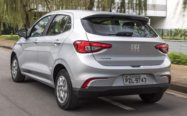 Fiat Argo Drive 1.0 Prata