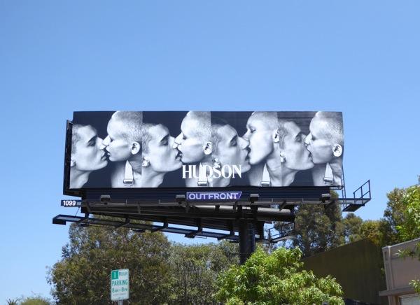 Hudson Jeans Fall 2016 kiss billboard