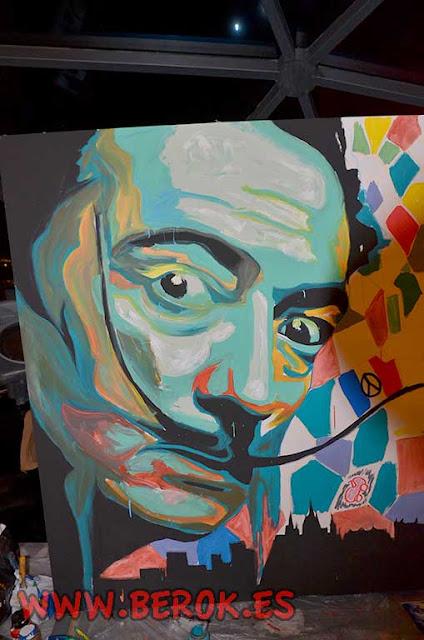 graffiti Salvador Dalí