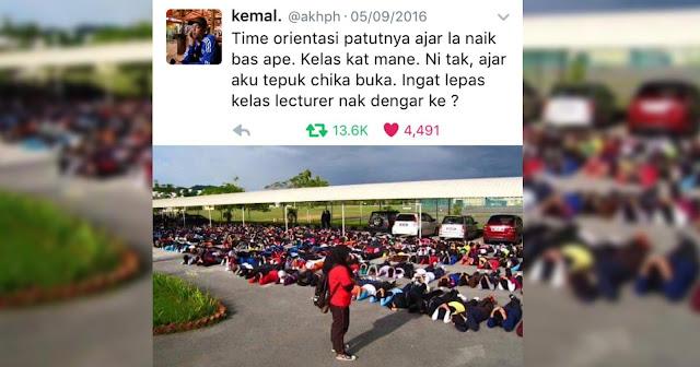 Tren Bodoh Universiti dan Semua IPTA di Malaysia