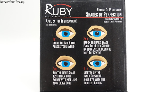 Ruby Cosmetics | Black Eyeshadow Kit