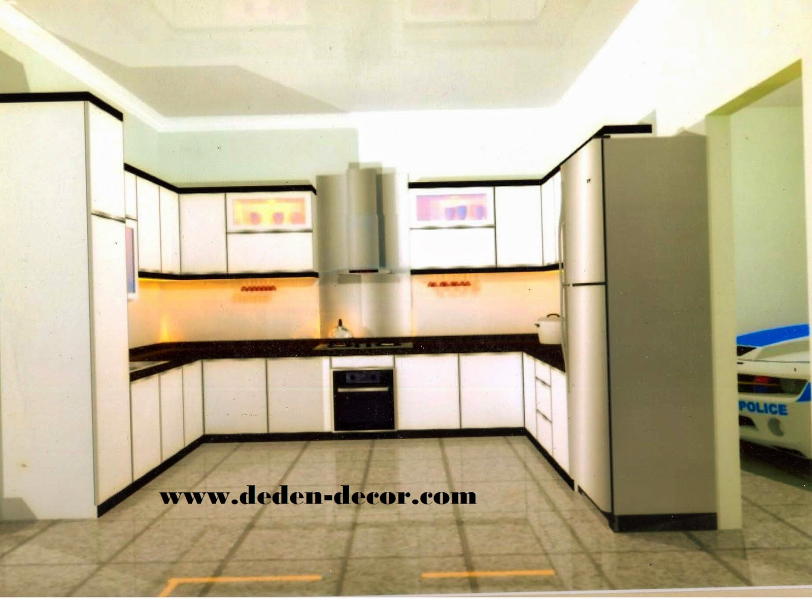 kitchen set deden decor