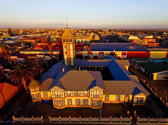 Namibia - Swakopmund's Woermann Haus