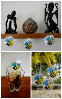 manualidad infantil hacemos abejas