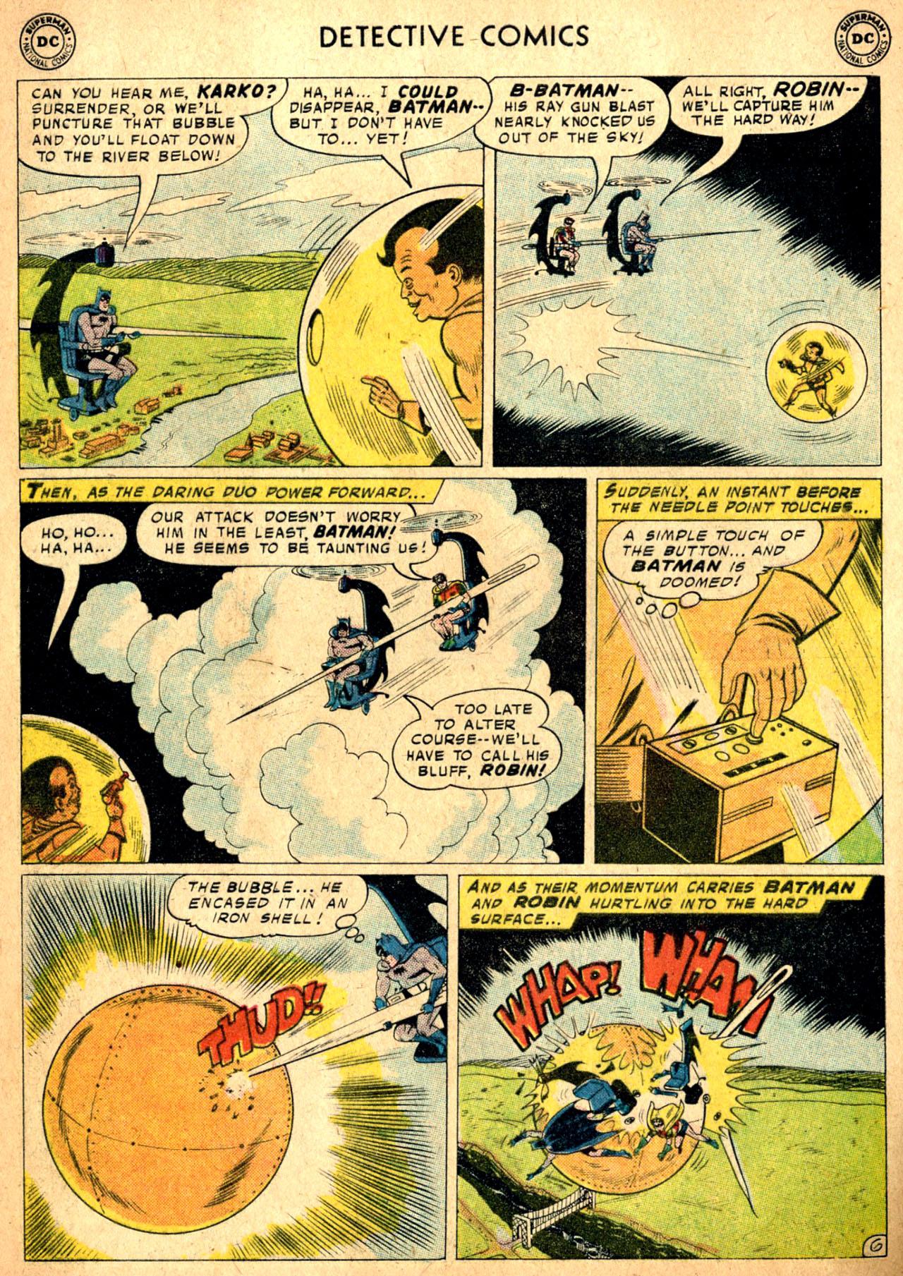 Read online Detective Comics (1937) comic -  Issue #257 - 8