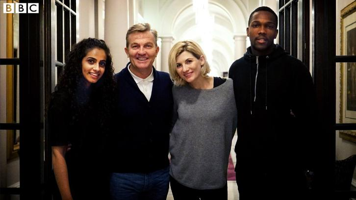 Doctor Who - Season 11 - Bradley Walsh, Tosin Cole, Mandip Gill & Sharon D Clarke Join Cast