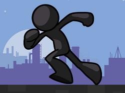 Çubuk adam koşuşu - Stıckman Vector