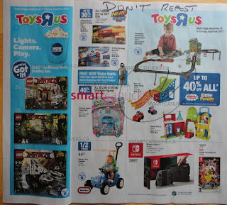 Toys R Us Flyer 10 Great Days! valid September 22 - 28, 2017
