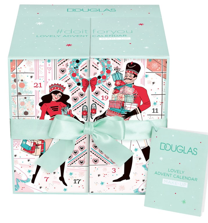 DOUGLAS KALENDARZ ADWENTOWY 2018 Make up Advent Calendar
