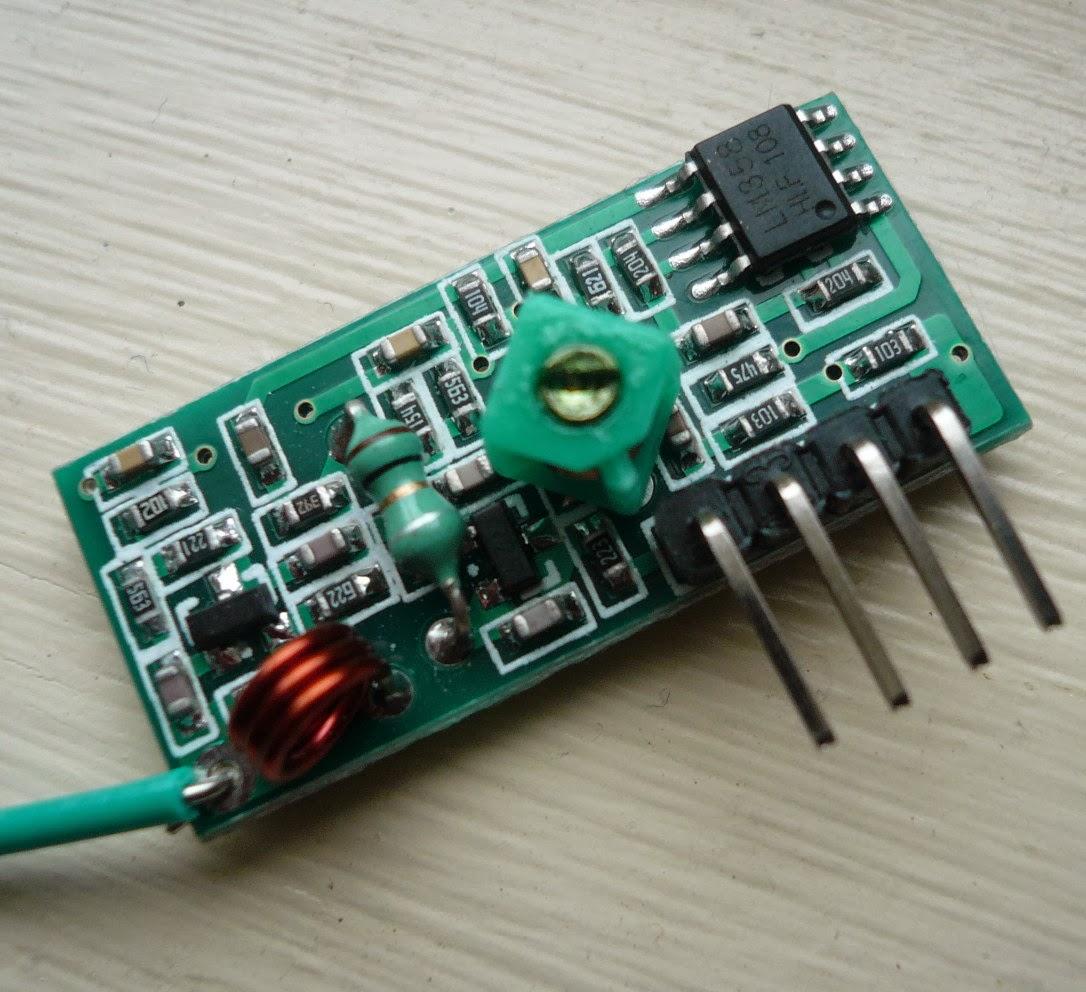 lectronique en amateur modules rf 433 mhz virtualwire et arduino. Black Bedroom Furniture Sets. Home Design Ideas