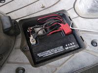 アドレスv125gに宗平技研dsc-001デサルフェーター取付け
